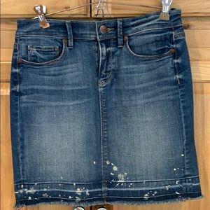Loft jean skirt